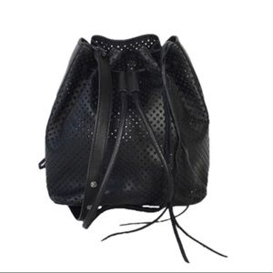 NWOT Rebecca Minkoff Perforated Bucket Bag